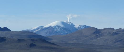 p volcan guallatire