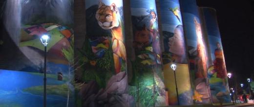mural arte en las alturas