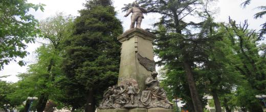plaza de armas de chillan