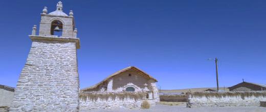 iglesia de guallatire