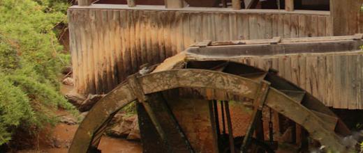 molino de agua rodeillo