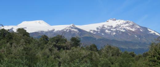 volcanes mocho-choshuenco